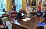 美国总统特朗普表示美中两国对世界负有责任