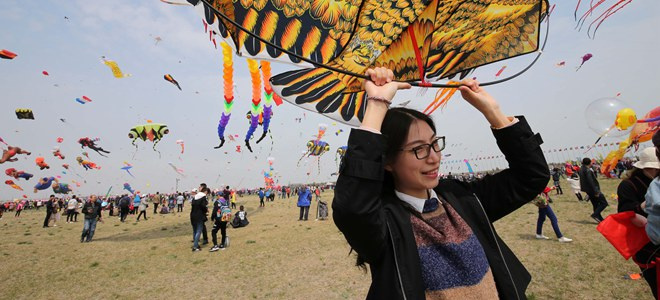 第36届潍坊国际风筝会开幕