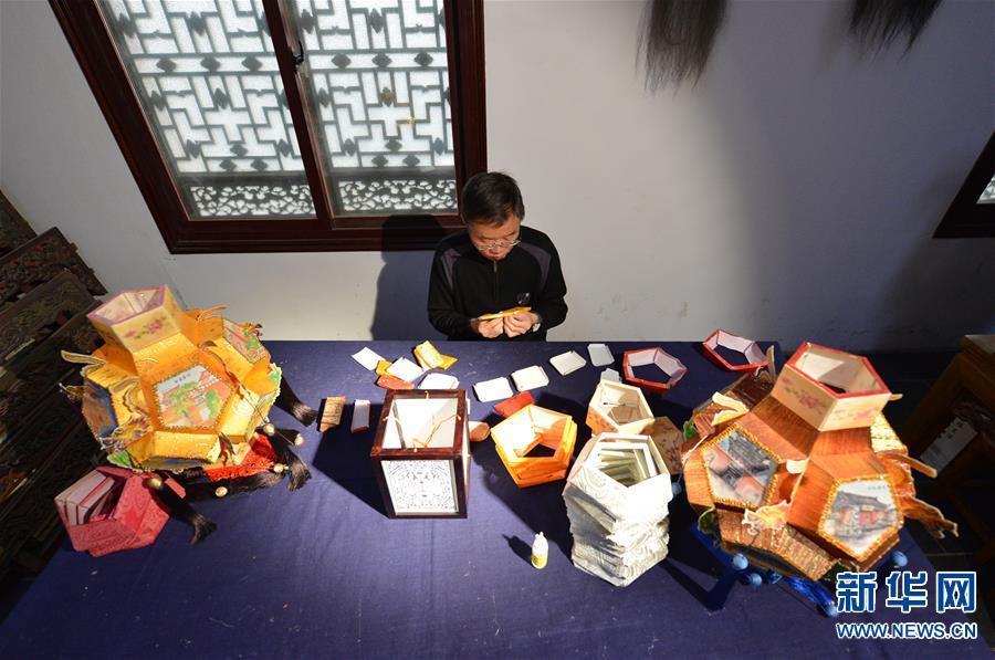 (图片故事)(3)张俊涛:让更多人了解传统灯笼文化