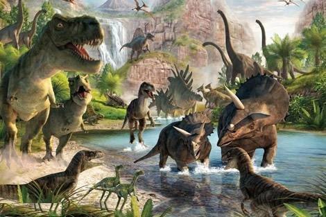 恐龙:历史上体型最庞大的动物