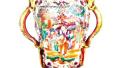 天津博物馆:广彩瓷 中国瓷上画西洋画