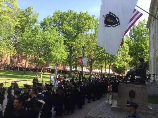哈佛大学第365届毕业典礼