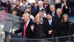 特朗普宣誓就任美国总统
