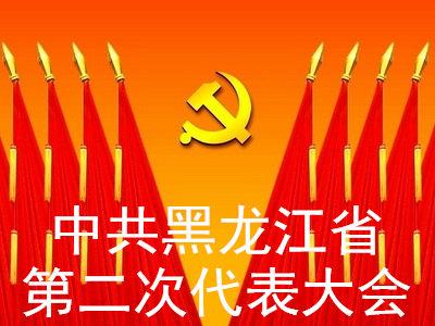 中共黑龙江省第二次代表大会