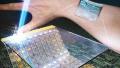 智能手表的新机遇:可附着皮肤表面的显示屏