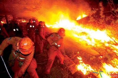烟台磁山突发大火 山火已经逼近蓬莱