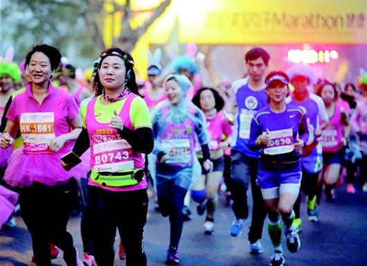 武汉/核心提示:武汉女子半程马拉松在东湖绿道开跑,2017武汉女子...
