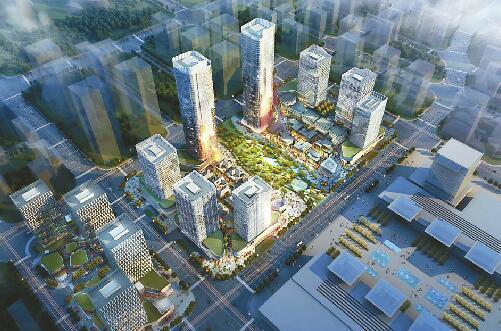 """""""齐鲁之门""""为啥身高降了90米? 高速广场是济南西城最高"""