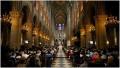 巴黎圣母院举行弥撒悼念西班牙恐袭遇难者