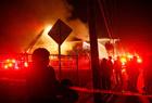 美国一小学发生火灾