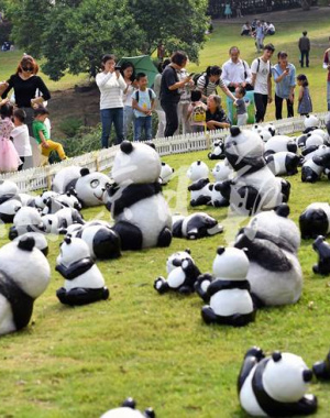 """红山动物园举办""""大熊猫艺术节"""""""