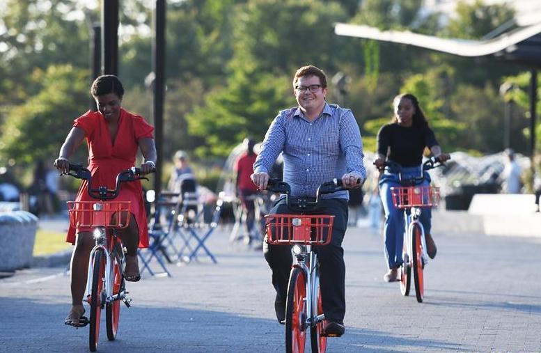 共享单车现身华盛顿