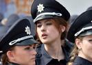 乌克兰美女警察