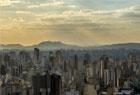 巴西圣保罗日落美景