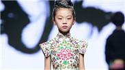 中国国际时装周:传统元素融入中式童装礼服