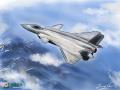 手绘壁纸为空军庆生