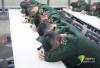 春运故事:北京西站武警每天执勤18小时 休息时睡姿戳人泪点!
