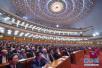 政协会议投票选举十三届全国政协领导人 现场高清大图来了!