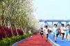 """""""最美跑道""""樱花将进入盛花期,这周末去滨江一起""""樱花跑""""吧"""