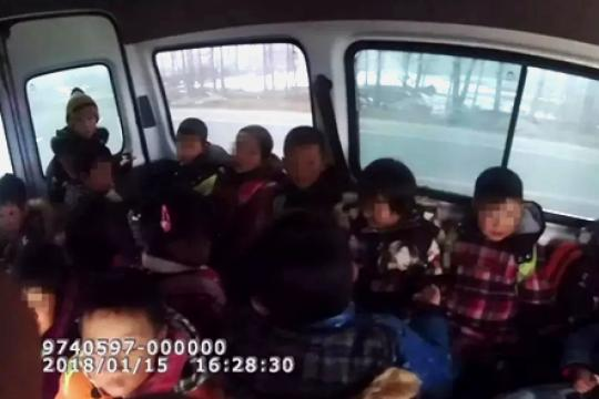 """中小学安全日河南曝光10起典型""""黑校车""""违法案例"""