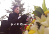 哈尔滨美女安葬师一年策划百场个性葬礼 越来越被认可