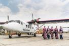 尼泊尔喜提中国飞机