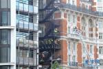 伦敦文华东方酒店发生火灾 近百名消防员投入救援