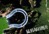 全球最长玻璃环廊河南伏羲山落成 伸出悬崖30米