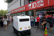 JD to set up unmanned vehicle unit in Changsha