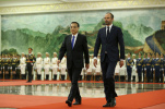李克强举行仪式 欢迎法国总理菲利普访华