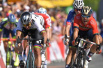 环法第三赛段BMC车队赢得团队计时赛冠军