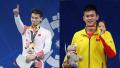 亚运会游泳比赛第一日 中国队揽4金1银2铜