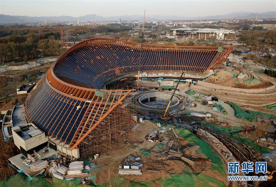 北京世园会园区建设已全面进入冲刺收官阶 段基本成形