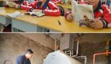 河北固安:清洁化采暖 减少空气污染