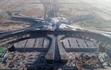 北京新机场迎来第一架校验飞机