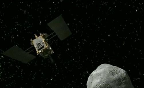 """日本 隼鸟2号探测器准备登陆""""龙宫"""""""