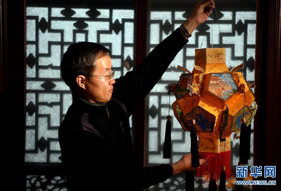 (图片故事)(6)张俊涛:让更多人了解传统灯笼文化