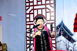 河南墜子北路非遺傳統書目展演在安陽市舉行