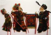 罗山老艺人捐赠200年前老皮影进入国家博物馆