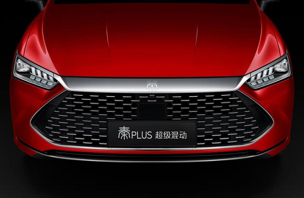 定位A+级紧凑型轿车 比亚迪秦PLUS官图发布