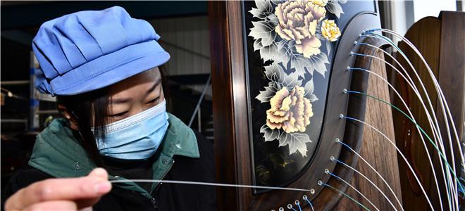 山东郓城:古筝新曲唱振兴