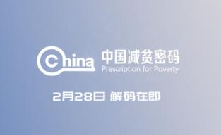 新华社大型纪录片《中国减贫密码》解码在即