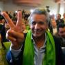 厄瓜多尔总统轮椅上就职
