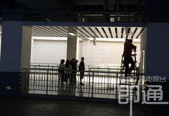 石家庄站候车大厅吊顶坍塌:施工人员踩踏所致