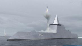 中國在建055驅逐艦火力冠絕全球