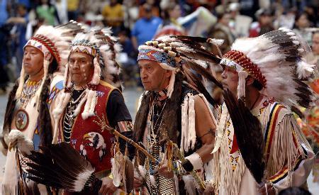 美国原住民长这样