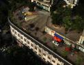 小区道路修建在楼顶上