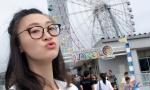 排球美女惠若琪赴日本交流 街头放飞长腿吸睛