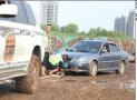 济南宜家开业 400余辆车被困临时停车场