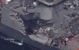 美军承认宙斯盾舰撞船事故系警戒松懈 舰长被处分